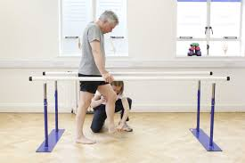 parallel bars exercise for parkinson's disease