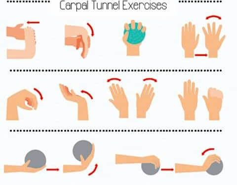 carpal tunnel exercises at home
