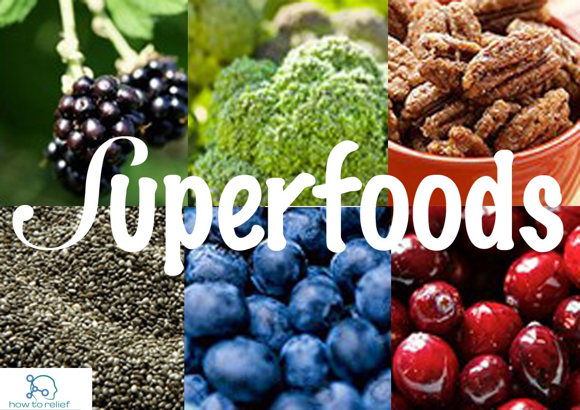 Popular superfoods