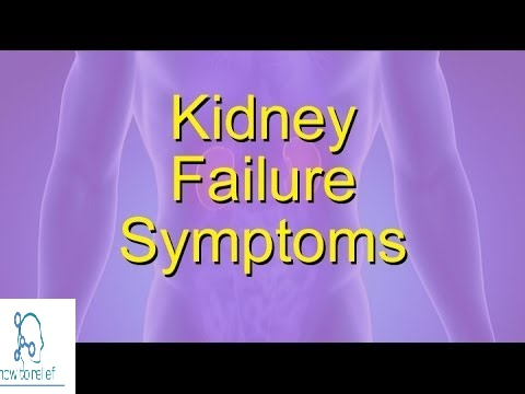 kidney failure symptom