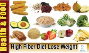 daily intake of high fiber food