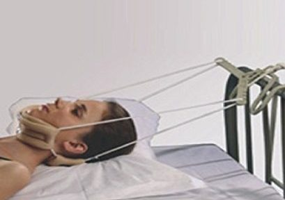 Cervical Traction Kit lying