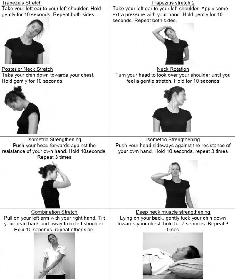 Neck Stretching Can Keep Pain Away