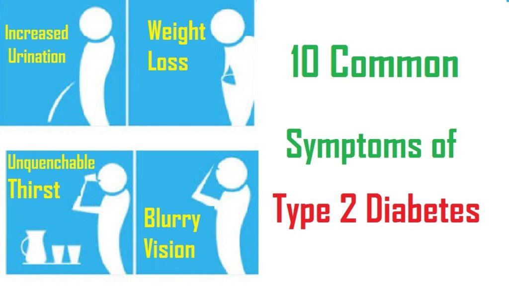 type 2 diabetes symptom