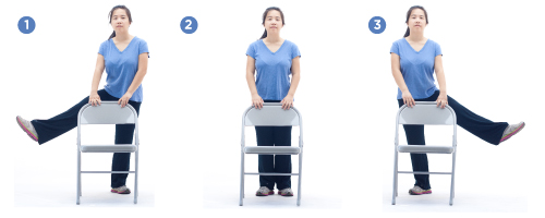 Standing Side Leg Raises