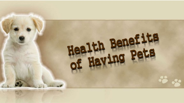 health benefits pets