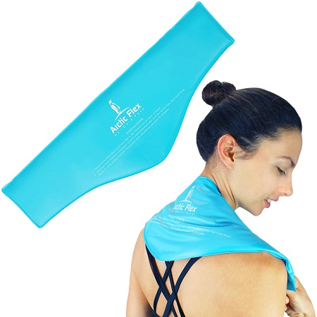 Arctic Flex Neck Ice Pack - Cold Compress Shoulder Therapy Wrap