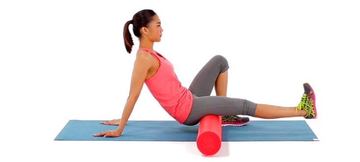 foam roll hamstrings